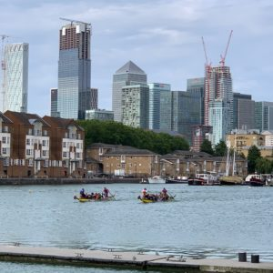 Dragon Boat Racing in London